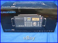 Eton Grundig Satellit 750 Shortwave/Mediumwave/Longwave Aircraft VHF & AM/FM