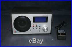 FABULOUS LIVIO NPR RADIO LV 002 WI-FI INTERNET RADIO BLACK & GRAY- FINE CONDIT