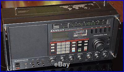 GRUNDIG SATELLIT INTERNATIONAL 650 MULTI BAND RADIO