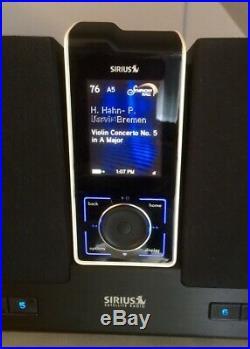 GUARANTEED LIFETIME SUBSCRIPTION-SIRIUS SL-100 Portable Satellite Radio Nw Batt