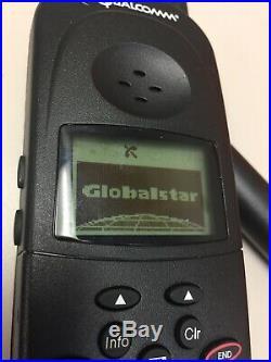 Globalstar Qualcomm GCK-1250 Satellite Phone Hands Free Car Kit In Pelican Case