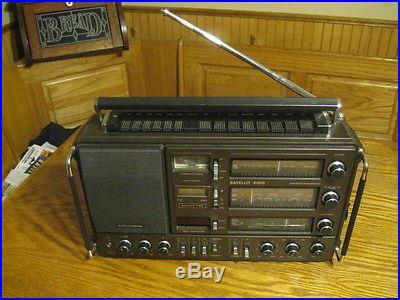 Grundig Satellit 3400 professional AM/FM shortwave radio execllent