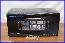 Grundig Satellit 750 Ultimate AM/FM Stereo Shortwave Aircraft Band Radio 2596