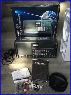 Grundig Satellit 800 Millennium World Receiver AM/FM Shortwave Receiver