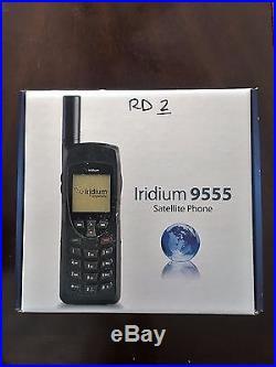 Iridium 9555 Satellite Phone with FREE SIM Card Pre-paid & Post-paid