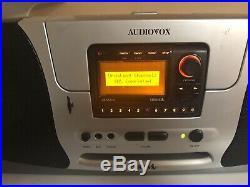 JENSEN JSIR900R SIRIUS XM Satellite Radio BOOMBOX Active Subscription withcar Dock