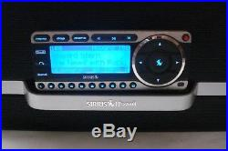LIFETIME SERVICE SIRIUS ST4R(A) Starmate Sirius radio with SXABB1 Boom Box