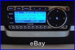 LIFETIME SERVICE SIRIUS ST4 Starmate Sirius radio with SXABB1 Boom Box
