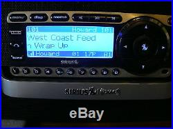 LIFETIME SUBSCRIPTION Howard Stern SIRIUS ST4R SATELLITE RADIO with BOOMBOX