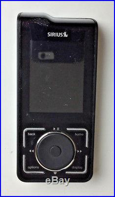 LIFETIME SUBSCRIPTION Sirius Stiletto 2 SL2 Handheld Satellite RADIO with extras