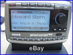 LIFETIME SUB Guaranteed+ SIRIUS SP-R2 satellite radio WithHome kit, Remote