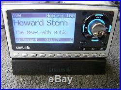 LIFETIME SUB Guaranteed+ SIRIUS Sportser SP4 satellite radio w Home kit remote