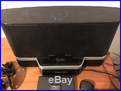 Lot of 2 Sirius XM Satellite Radios Model XDNX1 with Speaker Dock Boombox SXABB2