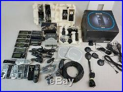 Lot of 9 Sirius Satellite Radio's SV3R, ST4, S50 & More +Extra AS-IS EB-2938