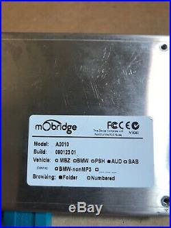 MObridge A2010 AUD XM Satellite Interface