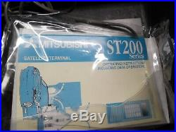 MSAT Mitsubishi Satellite Phone System TU200A MSAT DT-100 Pelican Case