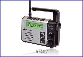 Midland XT511-Base-Camp GMRS Emergency Crank Radio #XT511