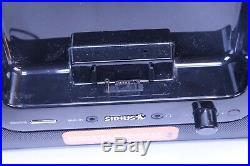 Mint SIRIUS SUBX2C Satellite Radio Boombox With SP5 Receiver Lifetime Subscription