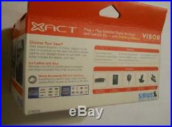 NEW ACTIVATED Xact XTR3 SIRIUS XM Radio With CAR KIT + Remote