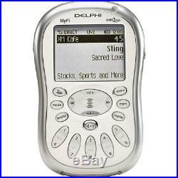 NEW Delphi MyFi xm2go portable Satellite radio receiver bundle Sealed