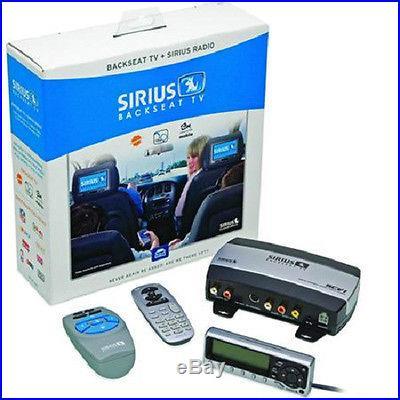 NEW Directed SCV1 Sirius Satellite Radio Backseat TV Audio/Video Tuner