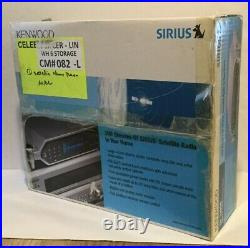 NEW Kenwood 100 Streams Sirius Satellite DT-7000S Radio with Wireless Remote