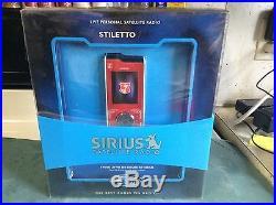 NEW SEALED Sirius Stiletto SL100 Personal Sat. Radio SL100-PK1 LIMITED EDITION