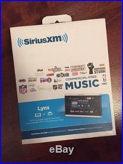 NEW SIRIUS XM LYNX SXI1TK1C PORTABLE RADIO & VEHICLE KIT