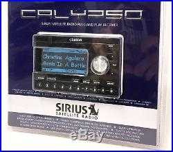 NEW Sirius Clarion CALYPSO Radio Receiver STRONG FM TRANSMITTER Sportster XM