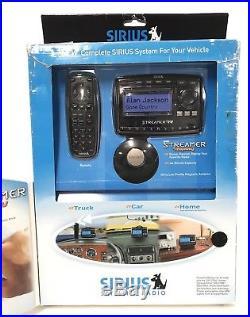 NEW Sirius Radio Streamer Replay Vehicle Kit Factory Sealed Sportster Upgrade XM