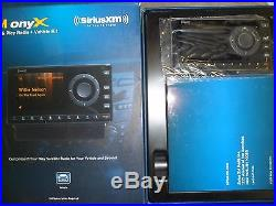NEW Sirius XM Onyx XDNX1V1 Satellite Radio Receiver With Dock & Vehicle Kit