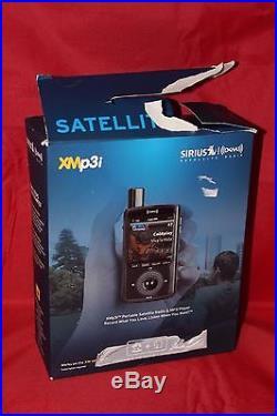 NIB SIRIUS Satellite Radio XMp3i Portable Satellite Radio MP3 Player #XPMP3H1
