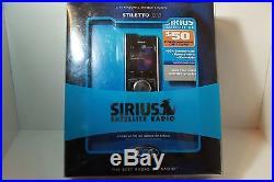 New Open Box Sirius Stiletto 100 Satellite Radio Complete with $50 Activation card