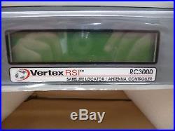 New RCI RC3000 Mobile Vertex RSI Satellite Locator / Antenna Controller System