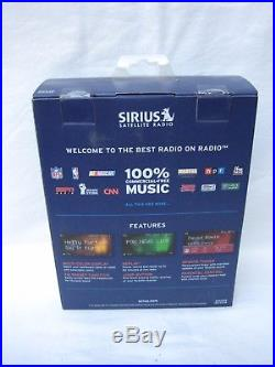 New SIRIUS Sportster 5 Satellite Radio Receiver & Vehicle kit, Sealed