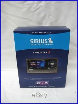 New SIRIUS Sportster 5 Satellite Radio Receiver & Vehicle kit sealed