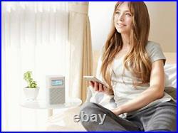 New SONY Home Radio Speaker SRF-V1BT FM AM Bluetooth NFC, White Japan Free Ship