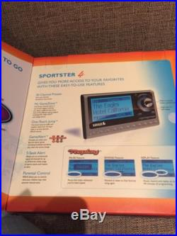 New Sealed Sirius Sportster 4 Satellite Radio Vehicle Kit Play Plug And More