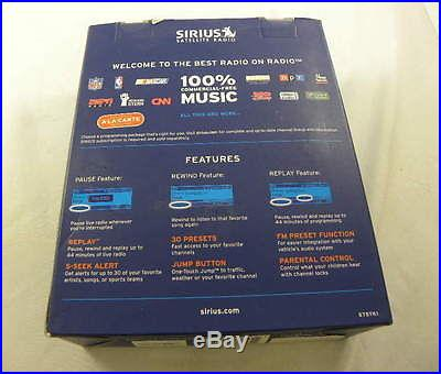 New Sirius Starmate 5 ST5TK1 Satellite XM Dock and Play Radio Plus Vehicle Kit
