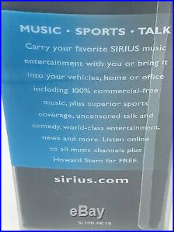 New Sirius Stiletto 100 Satellite radio receiver & accessories SL100PK1