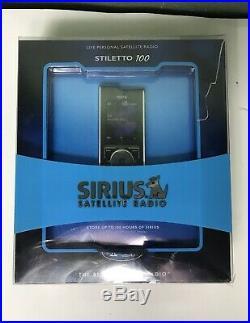 New Sirius Stiletto 100 Satellite radio receiver & accessories SL100PK1 New
