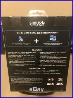New Sirius Stiletto 2 Live Portable Satellite Radio Receiver & Mp3 Player