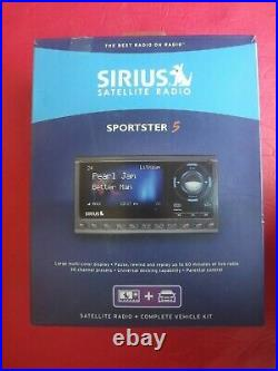 New Sirius XM Sp5 Satellite Radio Sportster 5 Radio & Vehicle Kit Sp5tk1