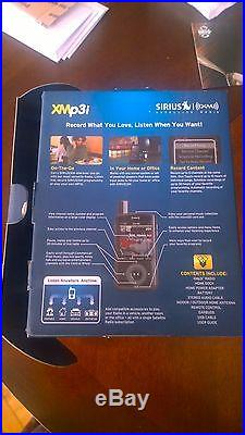 New Sirius XM XMp3i Portable Satellite Radio