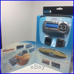 New in box Sirius STARMATE 2 Replay ST2R Satellite Radio Receiver and Car Kit