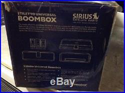 New read SIRIUS STILETTO EXECUTIVE SPEAKER BOOMBOX SLBB2 SOUND SYSTEM sl10 sl100