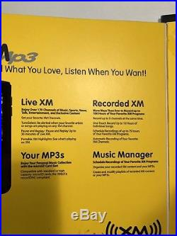 New sealed Pioneer GEX-XMP3 XM Satellite Radio Receiver & Home kit XMP3