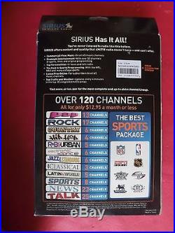 New sealed Sirius STARMATE 2 Replay ST2R Satellite Radio Receiver & Car Kit