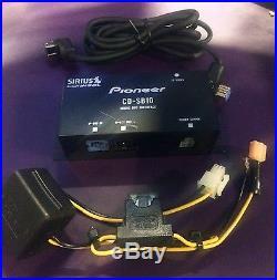 PIONEER CD-SB10 SIRIUS SATELLITE RADIO ADAPTER FOR PIONEER STEREOS CDSB10 C