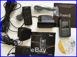 Pioneer GEX-INNO1 For XM Home Satellite Radio Receiver, antenna, charger, remote